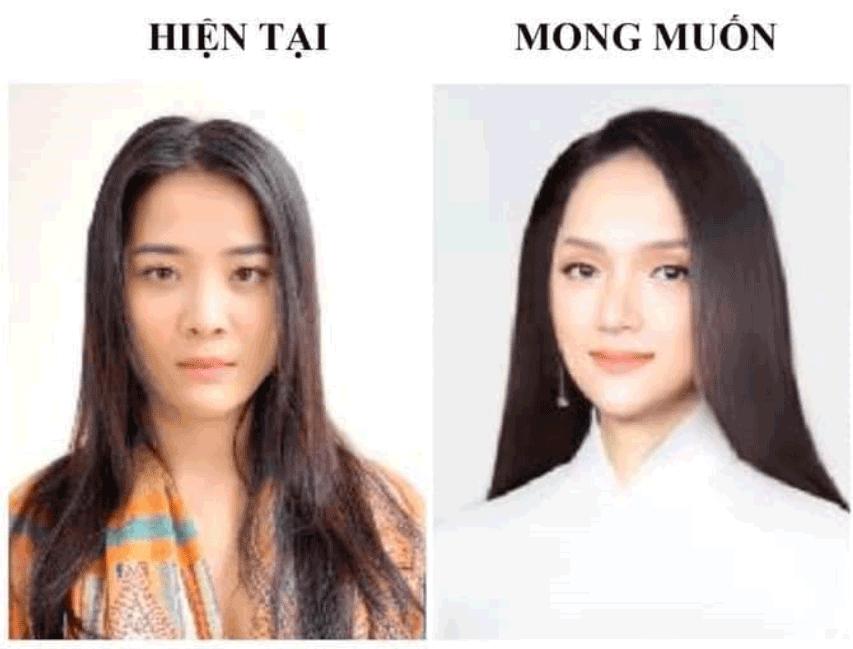 Hoa hậu Hương Giang phẫu thuật thẩm mỹ quá đẹp, dân tình rần rần đòi...